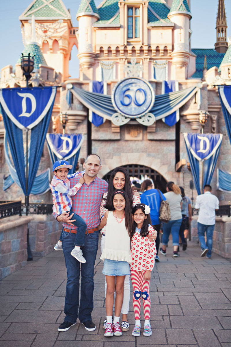 Theme Park Vacation Photographer Quick Family Session At